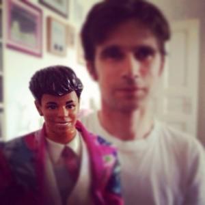 Der Ken meiner Kindheit und mein Mann.