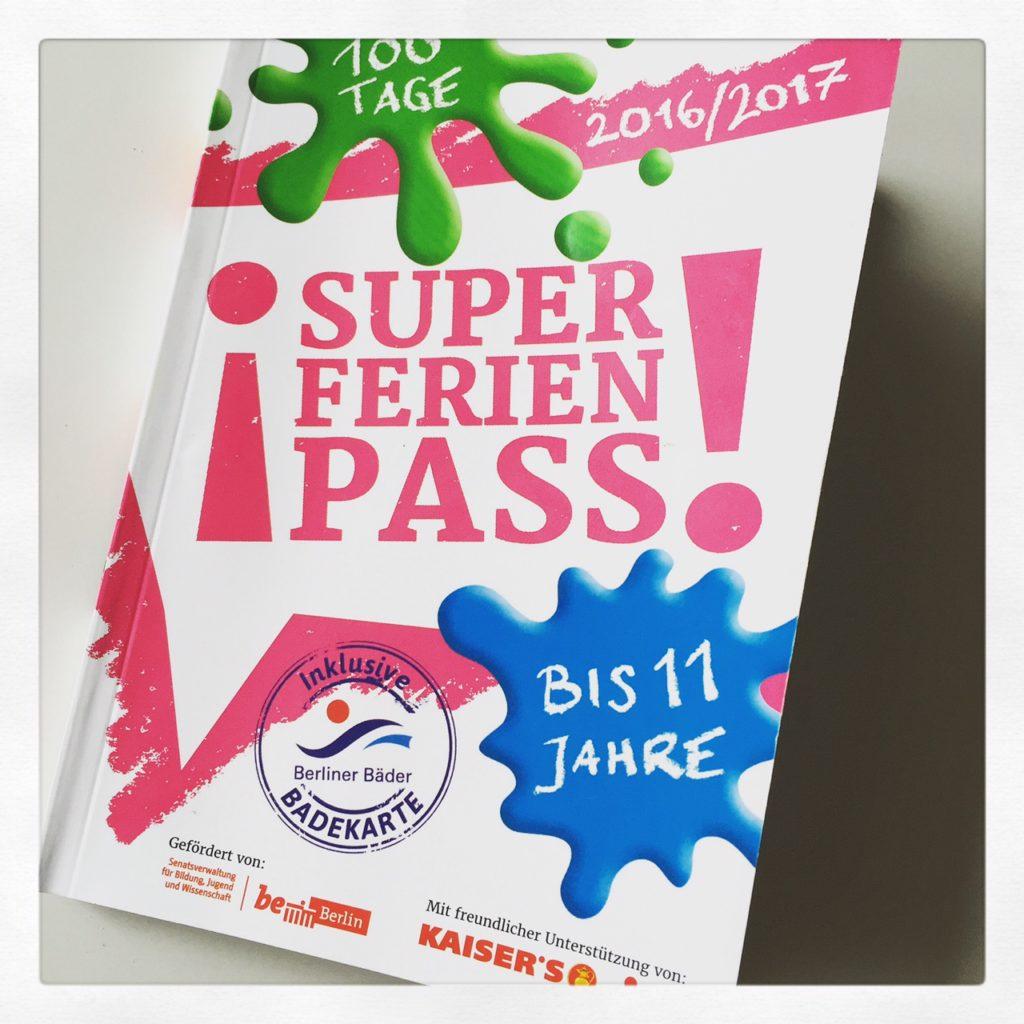 SUPER-FERIEN-PASS für Kinder bis 11